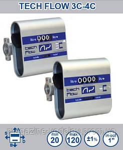 Механический счетчик расхода ДТ Tech-Flow 3C до 120л/мин
