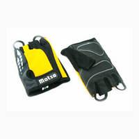 Перчатки для фитнеса Matsa MT-1000XLY (р. XL, желтые)