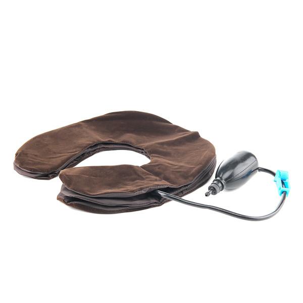 Ортопедический воротник лечебный воротник коричневый замш