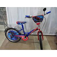 """Велосипед двухколёсный """"Spider Man"""" 16"""" дюймов***"""