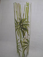 Ваза стекло напольная Бамбук
