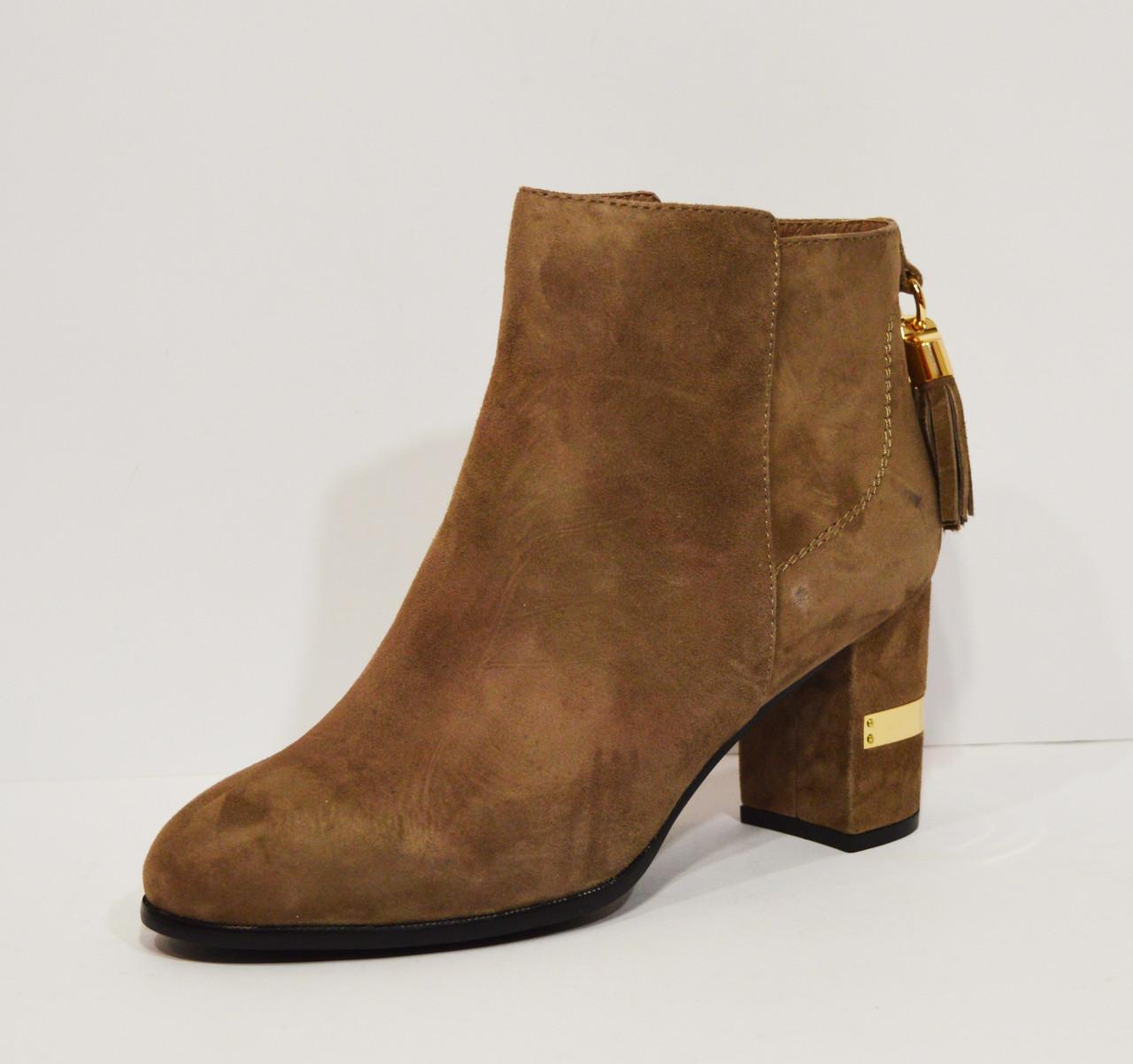Женские замшевые ботиночки Gotti