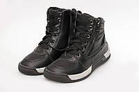 Демисезонные ботиночки на мальчика черные (31-36)