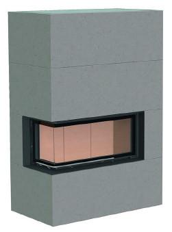 Теплоакумулюючий камін Brunner BSK 07 / Eck-Kamin 38/86/36 left lifting door lower