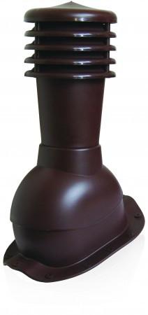 Вентиляционный выход с колпаком Kronoplast KBF для металлочерепицы низкий профиль волна до 20 мм. - Оксамит Винница в Виннице