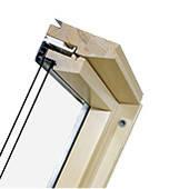 Fakro дерев'яне без вент. щілини(FTS U2)
