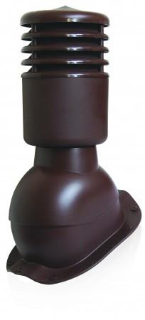 Вент выход утепленный Kronoplast KBFO для металлочерепицы низкий профиль волна до 20 мм с колпаком, фото 1
