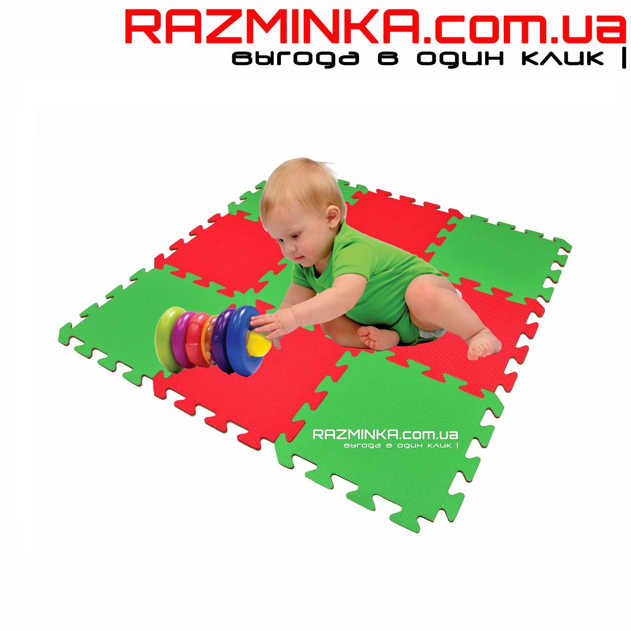 Напольный коврик-пазл для детей TOP-TOP 300х300х8мм (х9) - оптово-розничный интернет магазин Разминка в Днепре