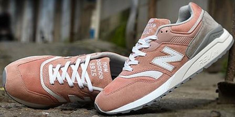 ... Кроссовки женские New Balance 997.5 Pink Grey b8b3a76cf03fe