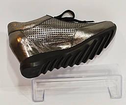 Серебряные женские кроссовки Alpino 160, фото 3