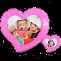 Фоторамка Сердца на 2 фото