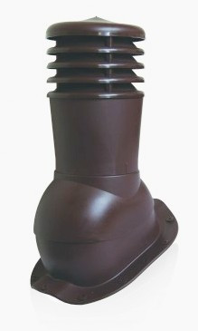 Вентвыход с колпаком Kronoplast KBF 150мм для металлочерепицы низкий профиль волна до 20 мм. - Оксамит Винница в Виннице