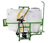 Опрыскиватель навесной Agroplast 1000 литров 16-18 м, фото 1
