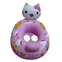 Лодочка надувная детская Helllo Kitty
