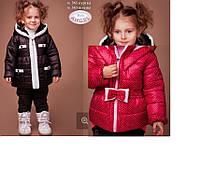 Baby angel куртка осенняя красная в горохи р 86. 110 акция