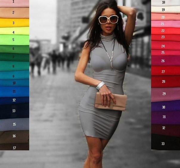 1e62f0ad81f0 Купить Облегающее платье без рукавов в Николаеве от компании