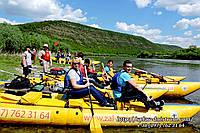 Двухдневный сплав по реке Днестр Беремьяны - Красная гора - Устечко - Залещики.