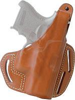 Кобура BLACKHAWK 3-SLOT PANCAKE HOLSTER для Glock 19/23/32/36 кожа ц:коричневый
