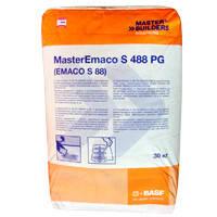 Безусадочная смесь для ремонта бетона MasterEmaco S 488 PG. Слой 10-40 мм.