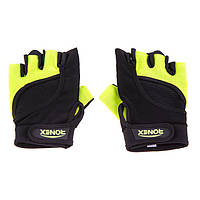 Перчатки для фитнеса Ronex Nap Forway Neopren RX-05 (желтый)