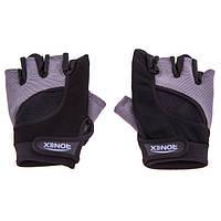 Перчатки для фитнеса Ronex Nap Forway Neopren RX-05 (серый)