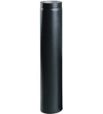 Дымоходная труба из низколегированной стали Darco (2 мм) L-1 м D-150