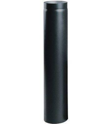 Дымоходная труба из низколегированной стали Darco (2 мм) L-1 м D-150, фото 2