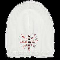 Детская трикотажная шапочка без завязок, ТМ Ромашка р. 48-50