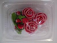 """Набор """"чайные розы""""  3 шт. в ассорт. Украина - 01154, фото 1"""