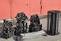 Транспортер наклонной камеры  ЗМ-30 (7,24м) 24 лопаток.