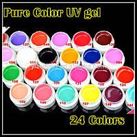 Набор цветные гели GDCOCO  24 шт по 5мл , фото 1