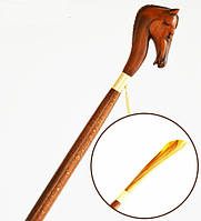 Ложка для обуви Garcia, древесина бука, рукоять в виде головы лошади
