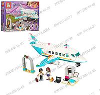 Конструктор SY 807 FRN, 245 деталей, самолет, 2 фигурки, багаж, сканер, в коробке 36*24,5*6 см