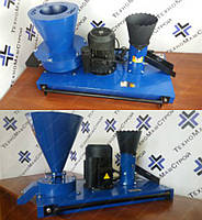 Гранулятор кормовых гранул ГКМ-100 + зернодробилка + сенорезка (без двигателя) 40/250/50 кг/час