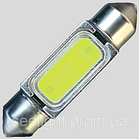 Светодиодная лампа в подсветку салона и номерного знака с цоколем SV8,5(C5W)-36mm-1.5W
