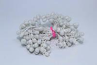 Тычинки в сахаре белые, 85 нитей (170 головок) в упаковке