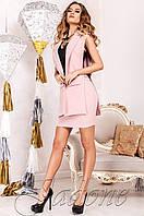 Деловой  женский  костюм Ролинс  пудра Jadone    42-50  размеры