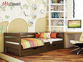 """Дерев'яне ліжко із бука """"Нота"""""""