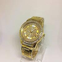 Женские часы браслет золотые Geneva