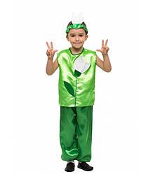 Карнавальный костюм Подснежника мальчик весенний на праздник Весны (4-8 лет)