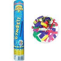Пневмохлопушка конфетти бумага