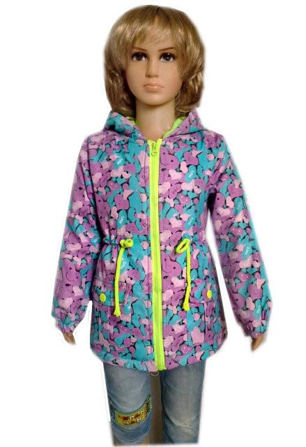Весенняя курточка на маленькую девочку