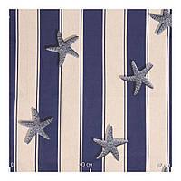 Ткани для римских штор с орнаментом и звездами Испания (80% хлопок, 20% полиэстер)