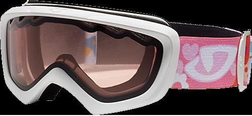 Горнолыжная маска Giro Chico матовая белая/девочка, красная 57% (GT)