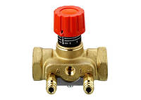 Клапан запорно-измерительный ручной ASV-I DN 15 c двумя измерительными ниппелями (003L7641)