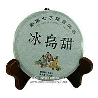 Чай Пуэр Шен Моностырский Выдержанный прессованный 100г