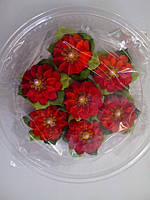 "Набор "" Цветочек №9 с листиками"" 7 шт (02631), фото 1"