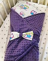 Конверт-одеяло для новорожденных на выписку