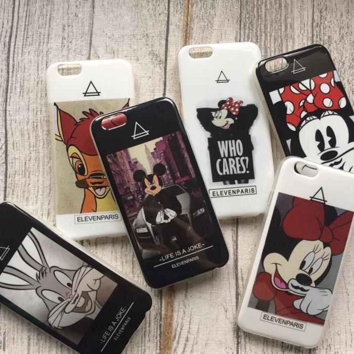 Силиконовые чехлы с изображением знаменитостей на iPhone 6/6s