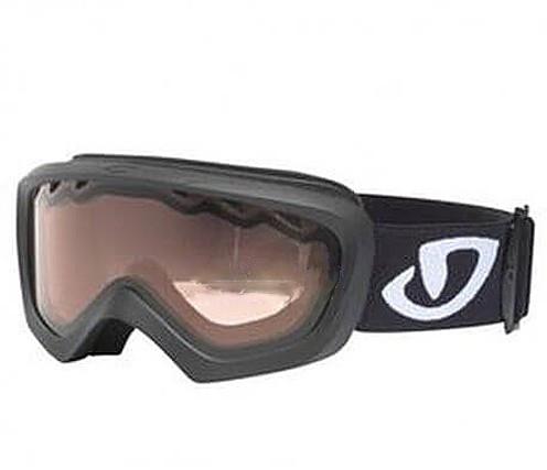 Горнолыжная маска Giro Chico мат.чёрная/бело-чёрная красная 57% (GT)